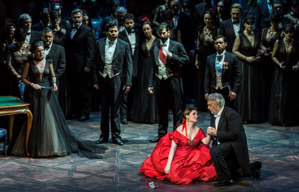 Marina Rebeka és Plácido Domingo a Traviatában