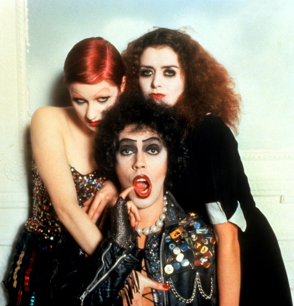 foto de 43 éve debütált New York ban a The Rocky Horror Picture Show