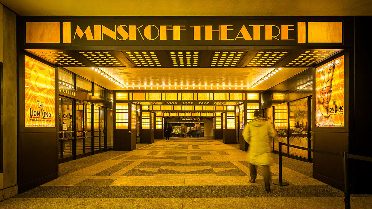 Minskoff Theatre, New York