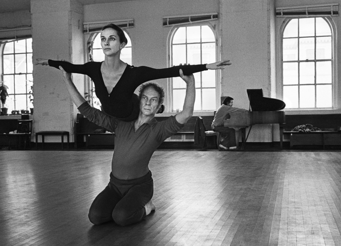 Merce Cunningham és Carolyn Brown, 1972 / Fotó: Wendy Perron